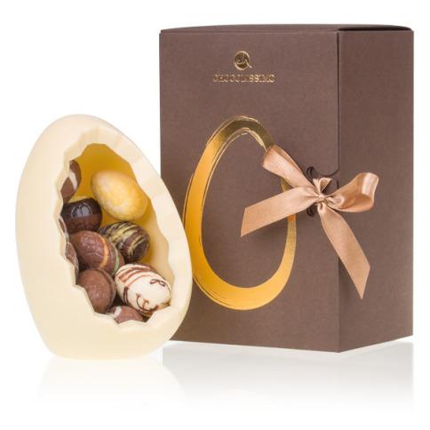 najlepsze prezenty wielkanocne - czekoladowe jajo